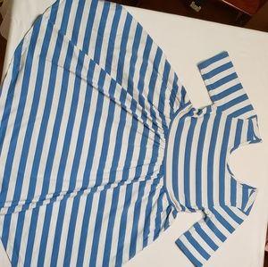 Hanna Andersson Twirl + Stripe Dress